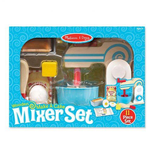 Drevený mixer set 6
