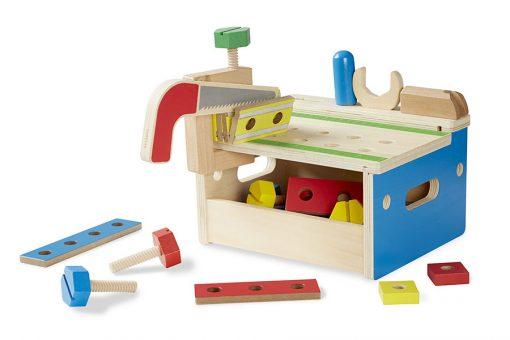 Drevený pracovný stôl 2