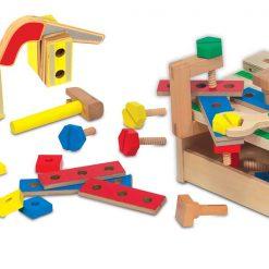 Drevený pracovný stôl 3