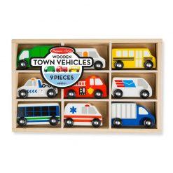 Drevený set - Mestské vozidlá 1