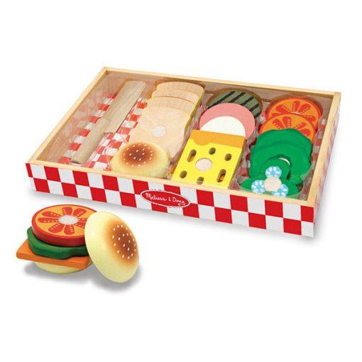 Drevený set - Vytvor si sendvič 1