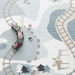 Drevený vlak Edvin 3