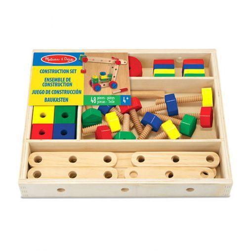 Dverená stavebnica v krabici 1