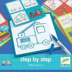 Eduludo Kreslenie krok za krokom Autá 1