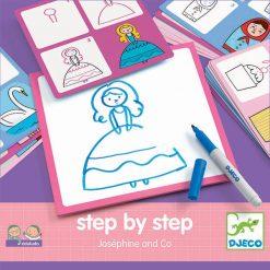 Eduludo Kreslenie krok za krokom Princezničky 1