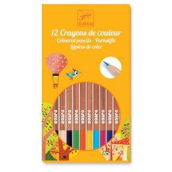 Farbičky - 12 farieb 1