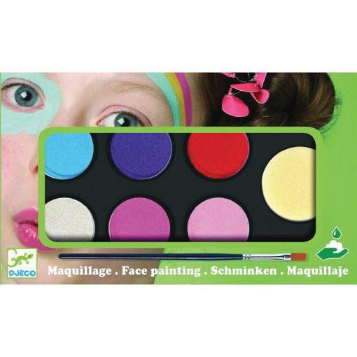 Farby na tvár - Jemné odtiene 1