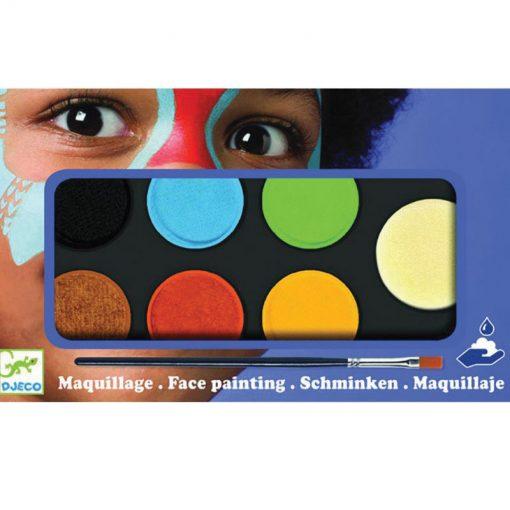 Farby na tvár - Prírodné odtiene 1