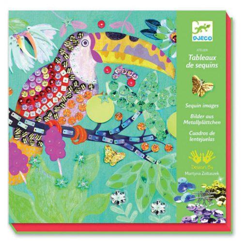 Flitrové obrázky - Bujné vtáky 1