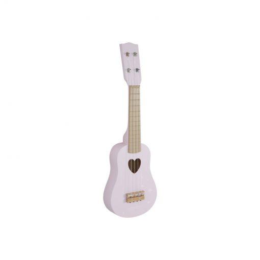Gitara - ružová 1