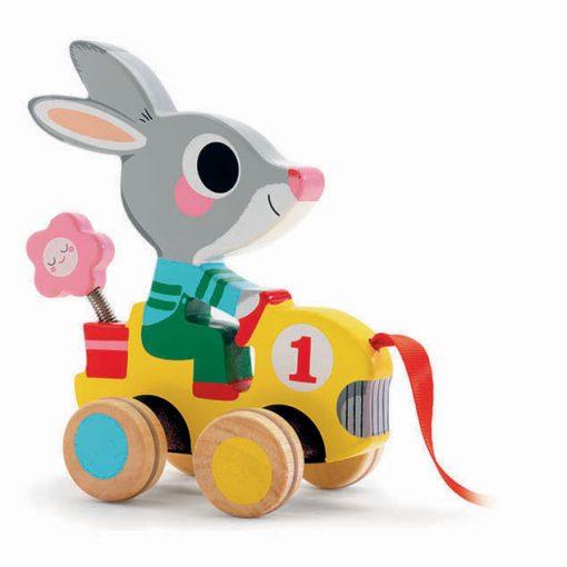 Hračka na ťahanie - Zajac 1