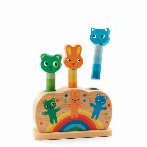 Hračka pre najmeších - Kolíčky Pipop pidoo 1