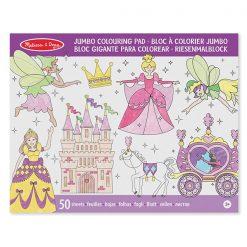 Jumbo vymaľovanka - Princezné a víly 1