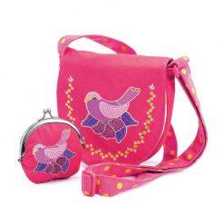 Kabelka s peňaženkou Vtáčik 1