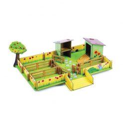 Kartónová 3D farma - Marienkina farma 1