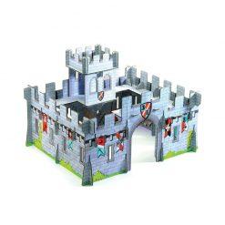 Kartónový 3D stredoveký hrad 1