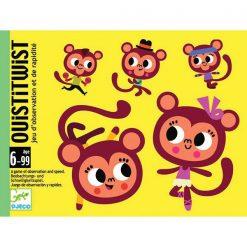 Kartová hra Ouisitwist (Popletené opice) 1