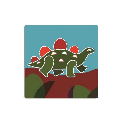 Kreslenie podľa šablóny Dinosaury 2