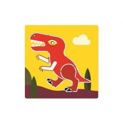 Kreslenie podľa šablóny Dinosaury 3