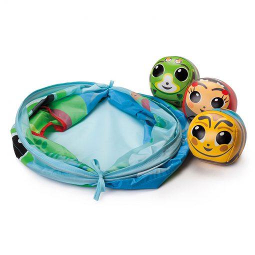 Kŕmenie žabky - Hádzajúca hra 2