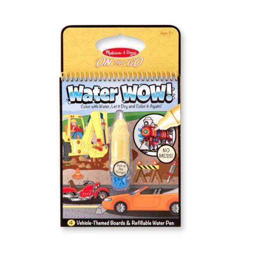 Magický štetec - Vozidlá - Water WOW 1