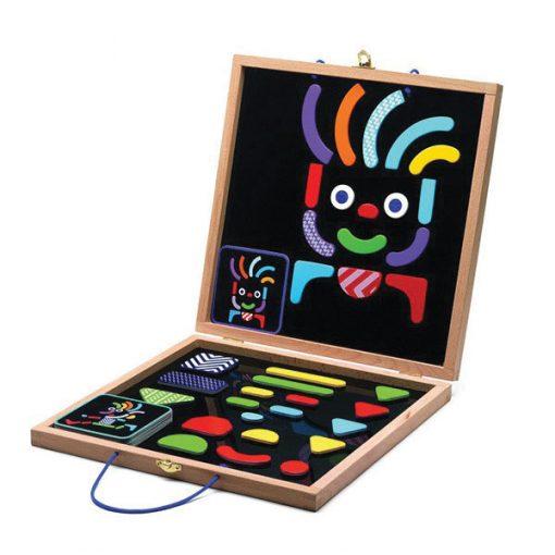 Magnetky v kufríku - Geo tvary (postavičky) 1