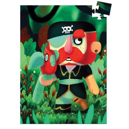 Mini puzzle - Pirát Sam Parrot 1