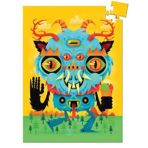 Mini puzzle - Príšera (The Monster) 1