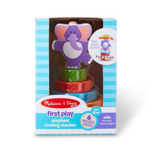 Moja prvá hračka - Navliekací hojdací sloník 3