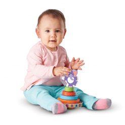 Moja prvá hračka - Navliekací hojdací sloník 5