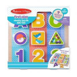 Moja prvá hračka - Puzzle ABC 123 1