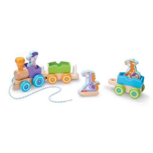 Moja prvá hračka - Vláčik so zvieratkami 2