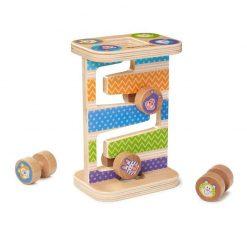 Moja prvá hračka - Zig-Zag veža so štyrmi valcami 1