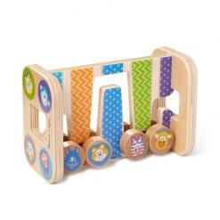 Moja prvá hračka - Zig-Zag veža so štyrmi valcami 2