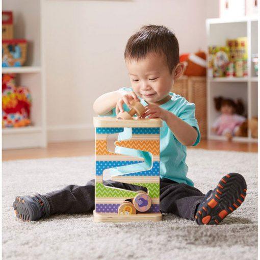 Moja prvá hračka - Zig-Zag veža so štyrmi valcami 4