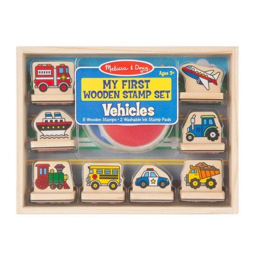 Moje prvé pečiatky - Dopravné prostriedky 1
