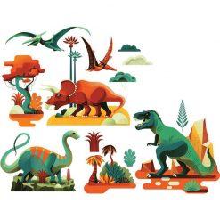 Nálepky na okno - Dinosauri 1
