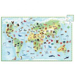 Náučné puzzle Zvieratá sveta 1