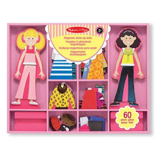 Obliekacie magnetky - Abby & Emma 1