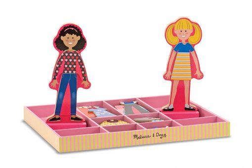 Obliekacie magnetky - Abby & Emma 2