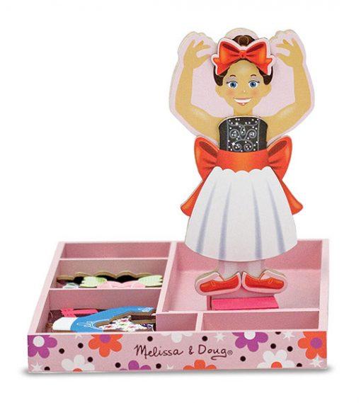 Obliekacie magnetky - Nina Ballerina 2