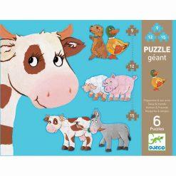 Obrovské puzzle - Daisy a priatelia 1