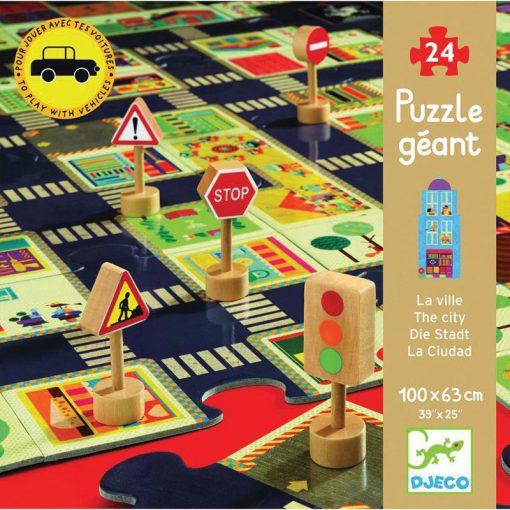 Obrovské puzzle Mesto 1
