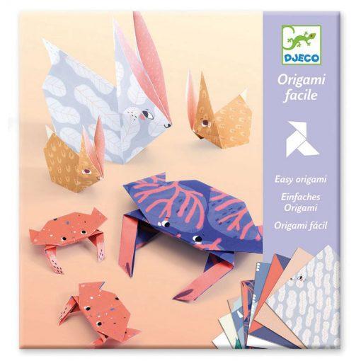 Origami - Zvieraicie rodinky 1
