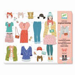 Papierové bábiky - Mega šatník 1