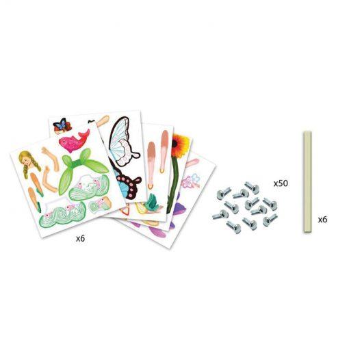 Papierové figúrky - Víly 4