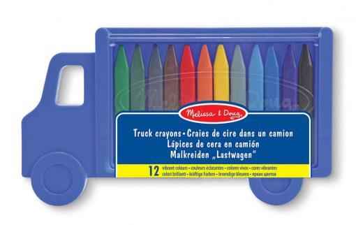 Pastelky - Nákladné auto 12ks 2