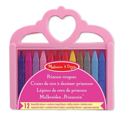 Pastelky - Princezná 12ks 2