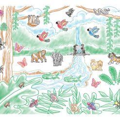 Pečiatková sada - Daždový prales 3