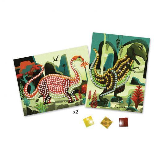 Penová mozaika - Dinosaury 2